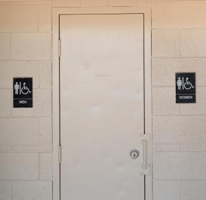 Men's And Women's Bathroom Signs